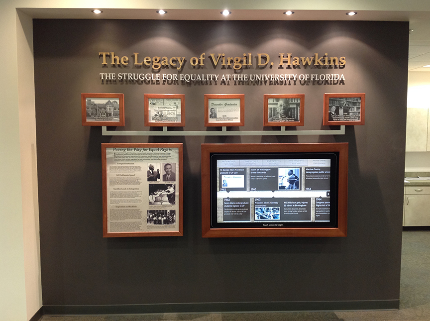 Virgil Hawkins Exhibit